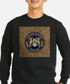 US Navy Diver Long Sleeve T-Shirt