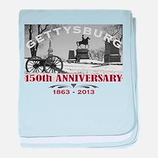 Civil War Gettysburg 150 Anniversary baby blanket