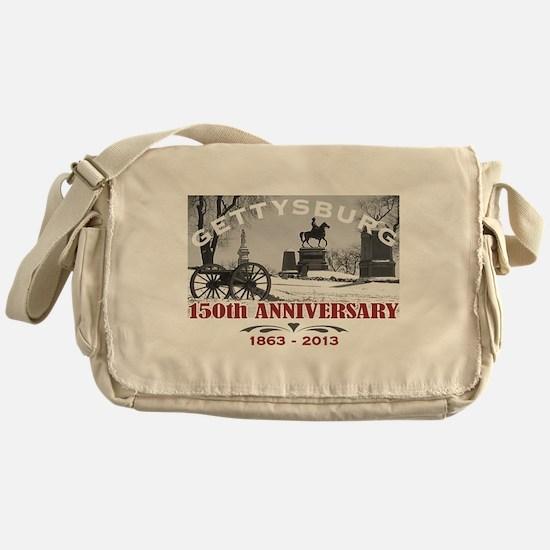 Civil War Gettysburg 150 Anniversary Messenger Bag