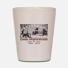 Civil War Gettysburg 150 Anniversary Shot Glass