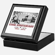 Civil War Gettysburg 150 Anniversary Keepsake Box