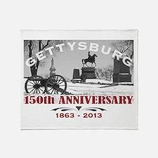 Civil War Gettysburg 150 Anniversary Throw Blanket