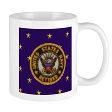 Navy Retired Mug