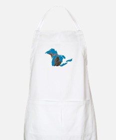 Great lakes Michigan petoskey stone Apron