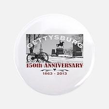 """Civil War Gettysburg 150 Anniversary 3.5"""" Button"""