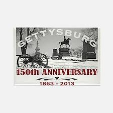 Civil War Gettysburg 150 Anniversary Rectangle Mag