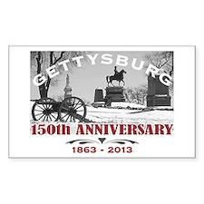 Civil War Gettysburg 150 Anniversary Decal