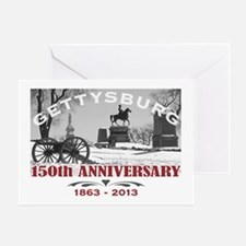 Civil War Gettysburg 150 Anniversary Greeting Card