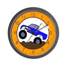Monster Truck Clock Wall Clock
