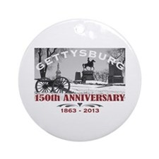 Civil War Gettysburg 150 Anniversary Ornament (Rou