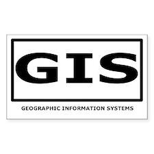 The GIS Sticker Rectangle