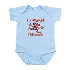 I love Amani this much Infant Bodysuit