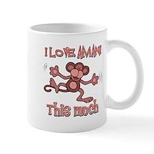 I love Amani this much Mug