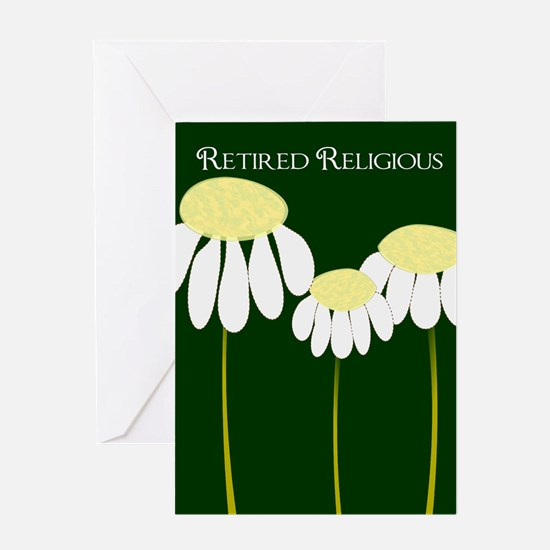 retired religious 4 Greeting Card