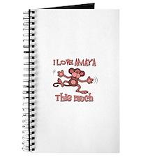 I love Amaya this much Journal