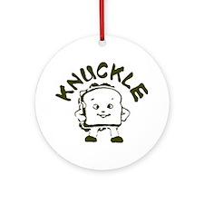 Knuckle Sandwich! Ornament (Round)