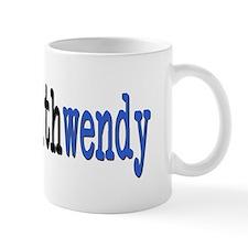 I Stand With Wendy typewriter Mug