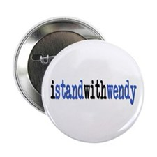 "I Stand With Wendy typewriter 2.25"" Button"