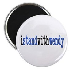 I Stand With Wendy typewriter Magnet