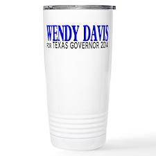 Wendy Davis for Texas Governor 2014 Travel Mug