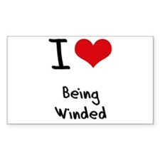 I love Being Winded Decal
