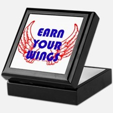Earn your wings Keepsake Box