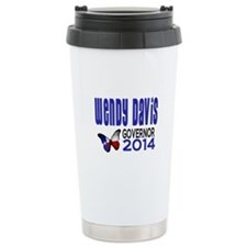 Wendy Davis for Texas Governor 2014 Travel Mug