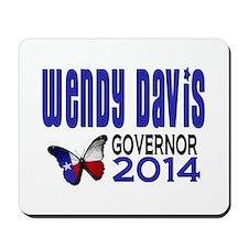 Wendy Davis for Texas Governor 2014 Mousepad