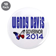 "Wendy Davis for Texas Governor 2014 3.5"" Butt"