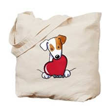 JRT With Heart Tote Bag