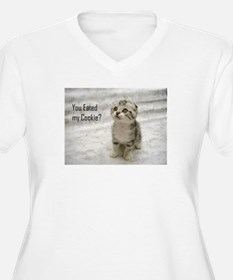 eated my cookie 1000 pixels.jpg Plus Size T-Shirt