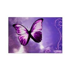 purple majesty Rectangle Magnet