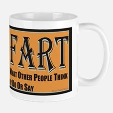 Old Fart Motto Small Mugs
