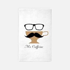Mr. Caffeine 3'x5' Area Rug