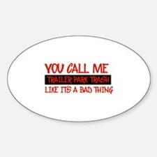Funny Designs Sticker (Oval)