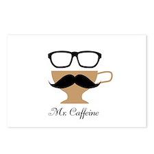 Mr. Caffeine Postcards (Package of 8)