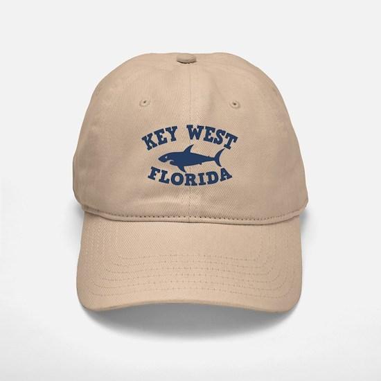 Sharking Key West Baseball Baseball Cap