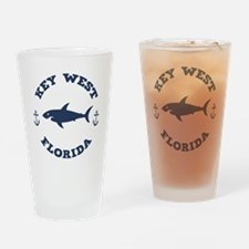 Sharking Key West Drinking Glass