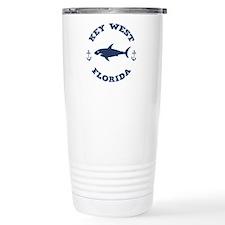 Sharking Key West Travel Mug