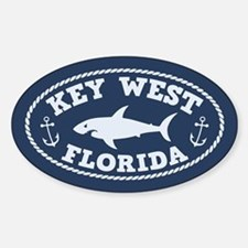 Sharking Key West Sticker (Oval)