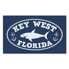 Sharking Key West Decal