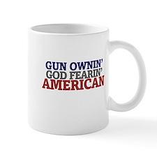 Gun owning GOD fearing american Mug