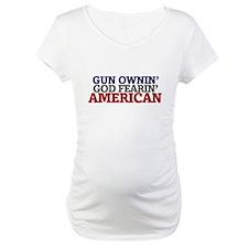 Gun owning GOD fearing american Shirt