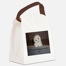 Voices kitty Canvas Lunch Bag