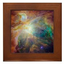 Orion Nebula Framed Tile