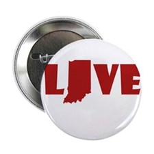 "LOVE indiana 2.25"" Button"