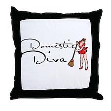 Domestic DIVA Throw Pillow