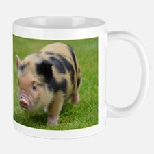 Little Spotty micro pig Small Mug