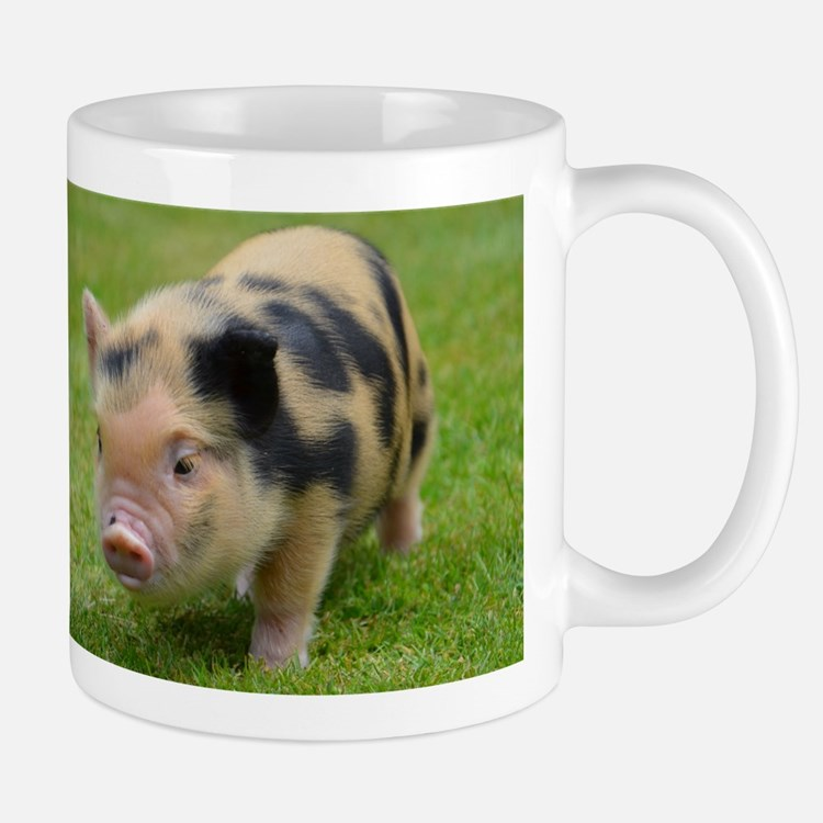 Little Spotty micro pig Small Mug