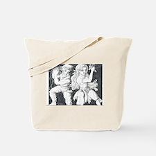 Original Manga Character Pose Tote Bag